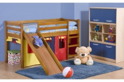 dětská postel z masivu NEO PLUS odstín dřeva borovice