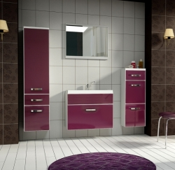 Koupelnový set EVO 60 fialová Koupelnový set EVO 60 fialová , um