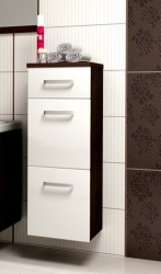 Koupelnová skříňka nízká EVO Barevné varianty Korpus wenge + w