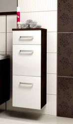 Koupelnová skříňka nízká EVO Barevné varianty korpus bílý + fi