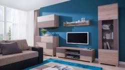 obývací stěna ADEN 03 barevné provedení: san remo / grafitový (š
