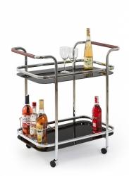 barový stolek BAR7 barva černá