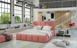Čalouněná postel EDVIGE šíře postele: 140 cm, potah: II. cenová