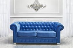 luxusní pohovka CHESTERFIELD potahový materiál: I.cenová skupina