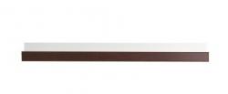 Polička KENDO K8 barevné provedení švestka wallis/bílá