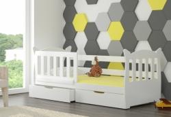 Dětská postel LENA barevné provedení zelená
