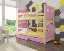 Dětská postel MARABA barevné provedení zelená