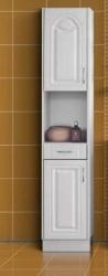 Koupelnová skříňka NANCY - bílá MDF