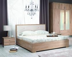 Postel NEBRASKA rozměr postele: 140 x 200, úložný prostor: ano,