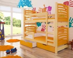Dětská postel OSUNA barevné provedení zelená