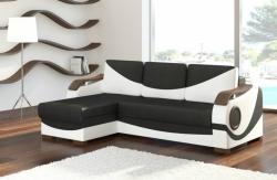 rozkládací sedačka PUERTO potahový materiál: černo-bílá - Sawan