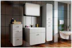 Koupelnový set RONDO - bílá