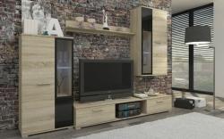 Obývací stěna SALZA barevné provedení: ořech virginia