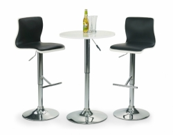 barový stolek SB1 barva bílá