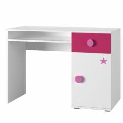 dětský psací stůl SIMBA 12 barevné provedení bílá/modrá