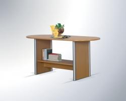 Konferenční stolek OVAL LUX barevné provedení hruška