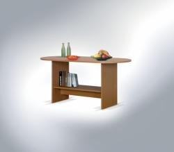 Konferenční stolek OVAL barevné provedení hruška