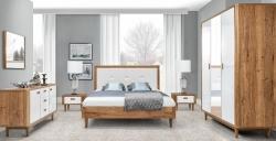 Ložnice Florencja rozměry postele 180 x 200, úložný prostor ano