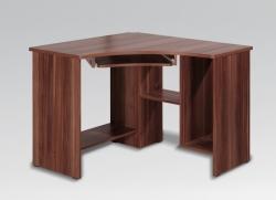 Psací stůl VASINA ROH barevné provedení švestka