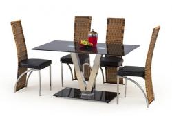 Jídelní stůl VELVET černá